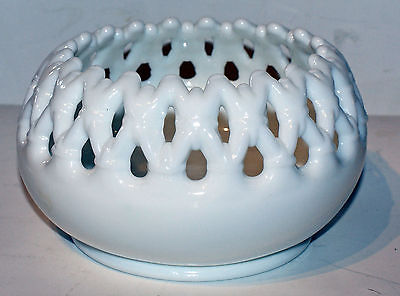 Unique & Lovely Westmoreland Milk Glass Fancy Bowl • Estate Item