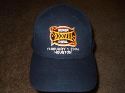 Super Bowl 38 New England Patriots Hat Cap NEW!!!