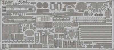Eduard Models Chokai 1944 Detail Set Photo-Etch 8591437530557