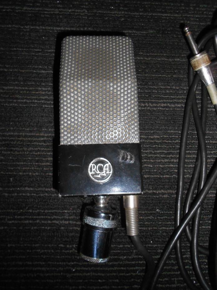 VINTAGE RCA  74B RIBBON MICROPHONE