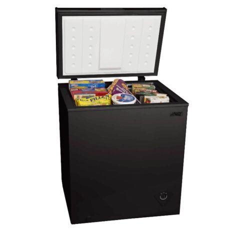 Arctic King 5.0 cuft Chest Freezer Black Deep Dorm Basement Garage Kitchen NEW