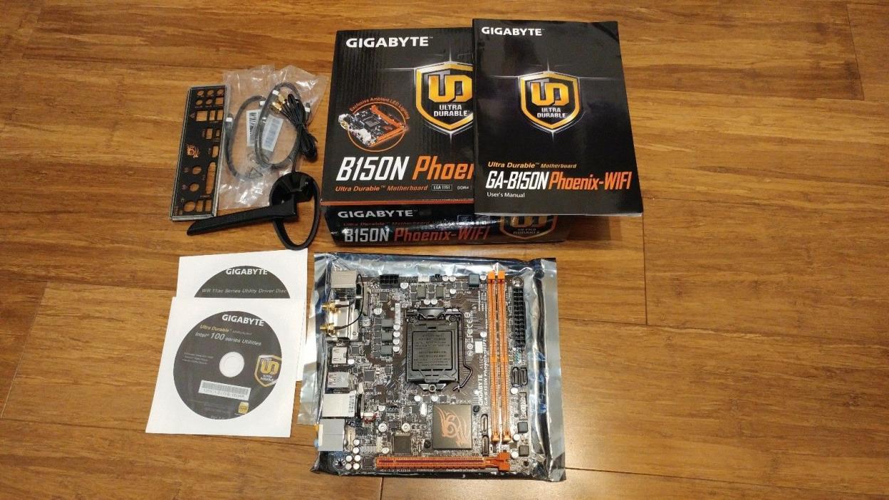 Gigabyte GA-B150N Phoenix WIFI Motherboard LGA1151 Mini-ITX