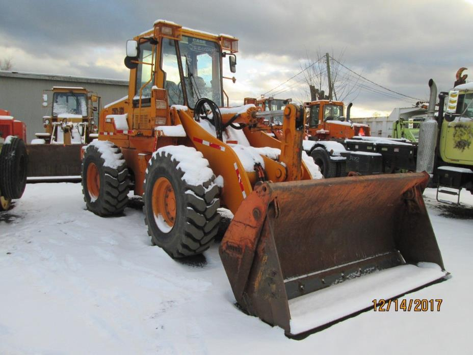 2001 CASE 621C WHEEL LOADER WITH 4-in-1 BUCKET