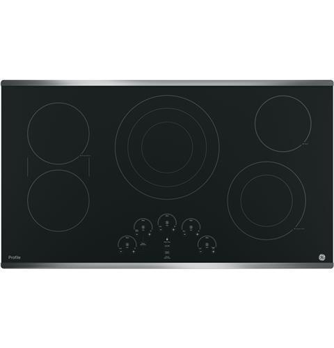 GE Profile 36-Inch Electric Cooktop - PP9036SJSS