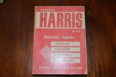 RARE! Samuel Harris Industrial Catalog ASBESTOS CLOTHING