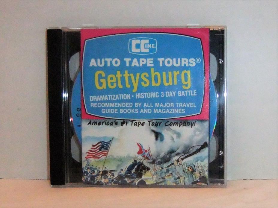 Gettysburg Civil War Battlefield Auto Tour 2 CDs