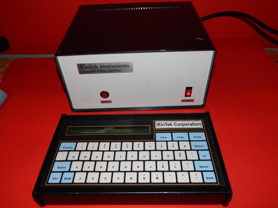 Kintek Corporation Quench-Flow Controller w/ Keyboard Look Read Powers On