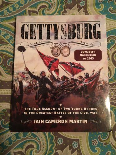 Civil War Book Gettysburg