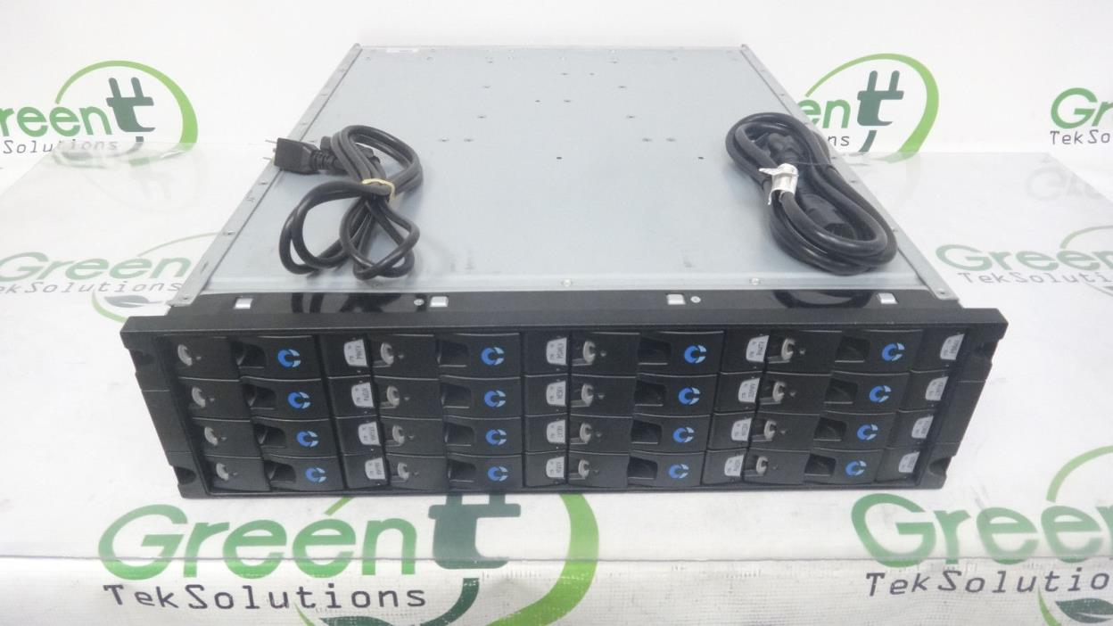 Dell Compellent Expansion Array 52072-08 RA-1602-1216-JBD-COMP w/ 16x 0946248-01