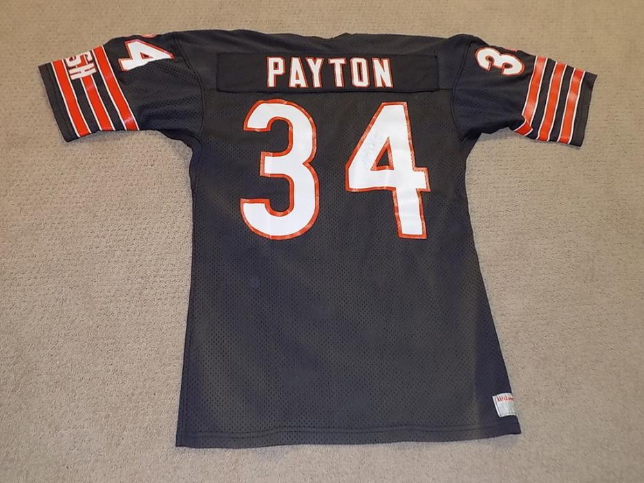 Walter Payton Signed Game Jersey Chicago Bears HOF JSA