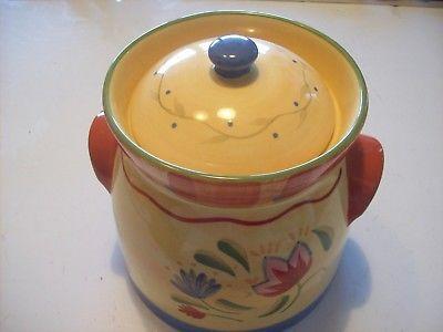 Pfaltzgraff Napoli Small Soup Tureen Cookie Jar Flour Sugar Canister @ cLOSeT