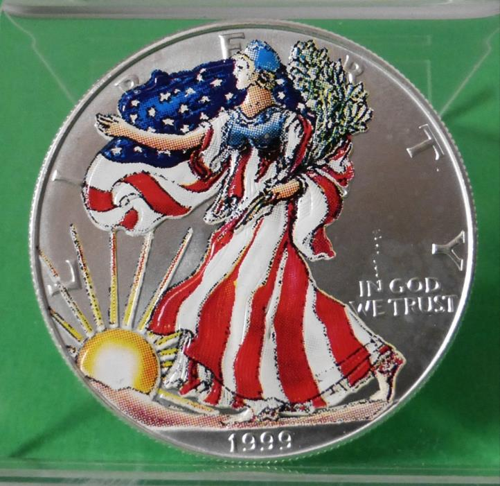 1999 American Eagle Silver Dollar For Sale Classifieds