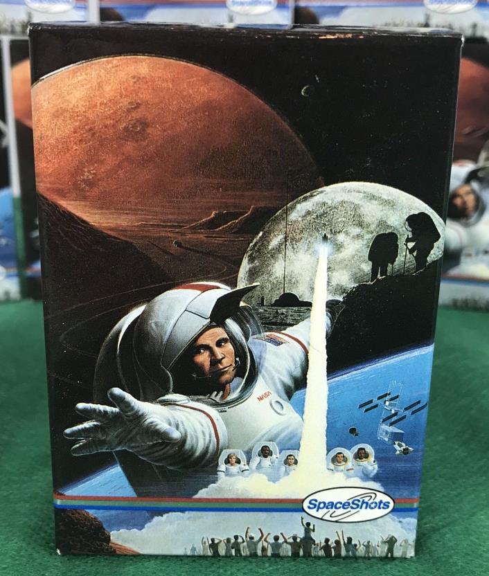 Spaceshots set, Moon Mars Space Shots 36 Card Laser 3-D  NASA