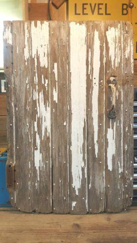 Vintage Wood Barn Door Reclaimed Lumber Architectural Salvage
