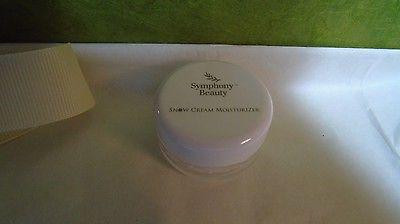 Symphony  Beauty Snow Cream Moisturizer - Trial Size - NEW