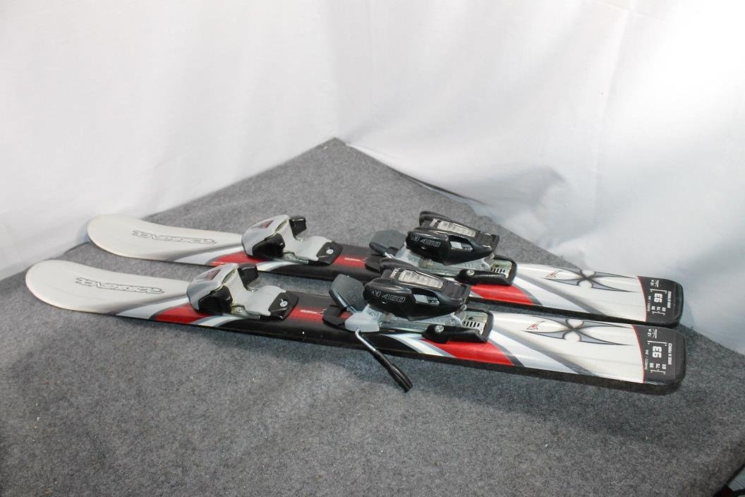 Rossignol 93 Xi Skis w/ Marker M450 bindings