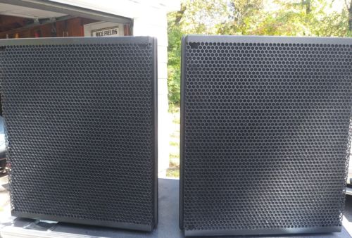 Meyer Sound msl2a pair. 15 inch 2 way  concert speakers smoking price! VG cond