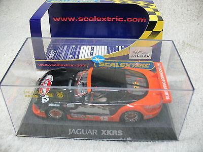 1/32 SCALE 2006 #12 JAGUAR XKRS AUTOCON MOTORSPORTS RED LINE RACE SLOT CAR-RARE