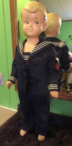 Vintage Buster Brown Mannequin Doll