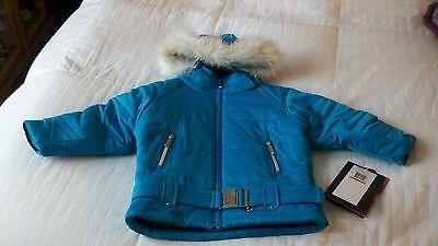 NWT Spyder Bitsy Contessa  Jacket Sz. 3   NWT   Blue