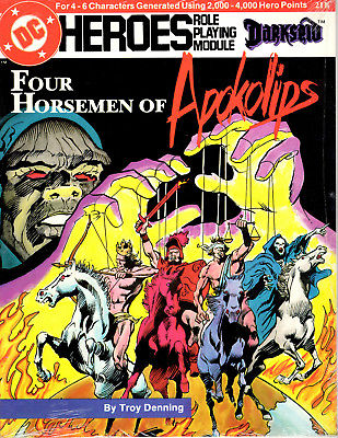 Four Horsemen of the Apokolips Shrinkwrapped FREE SHIPPING-USA