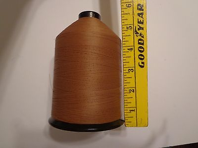 military thread spool surplus tan USA sew craft