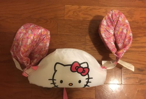 Hello Kitty Puddle Jumper 30-50 Lbs, Detachable Arm Floats
