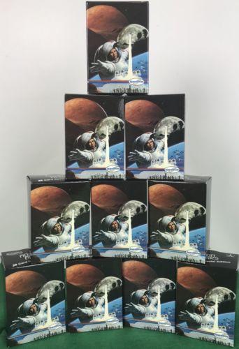 lot of 10 Spaceshots sets, Moon Mars Space Shots 36 Card Laser 3-D  NASA