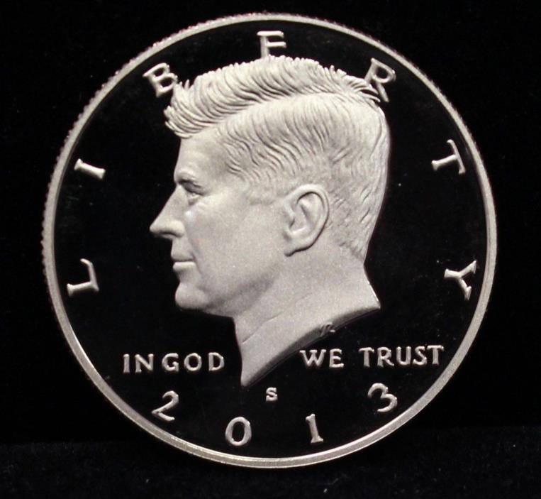 2013 S CLAD PROOF DCAM KENNEDY HALF DOLLAR ROLL (20)
