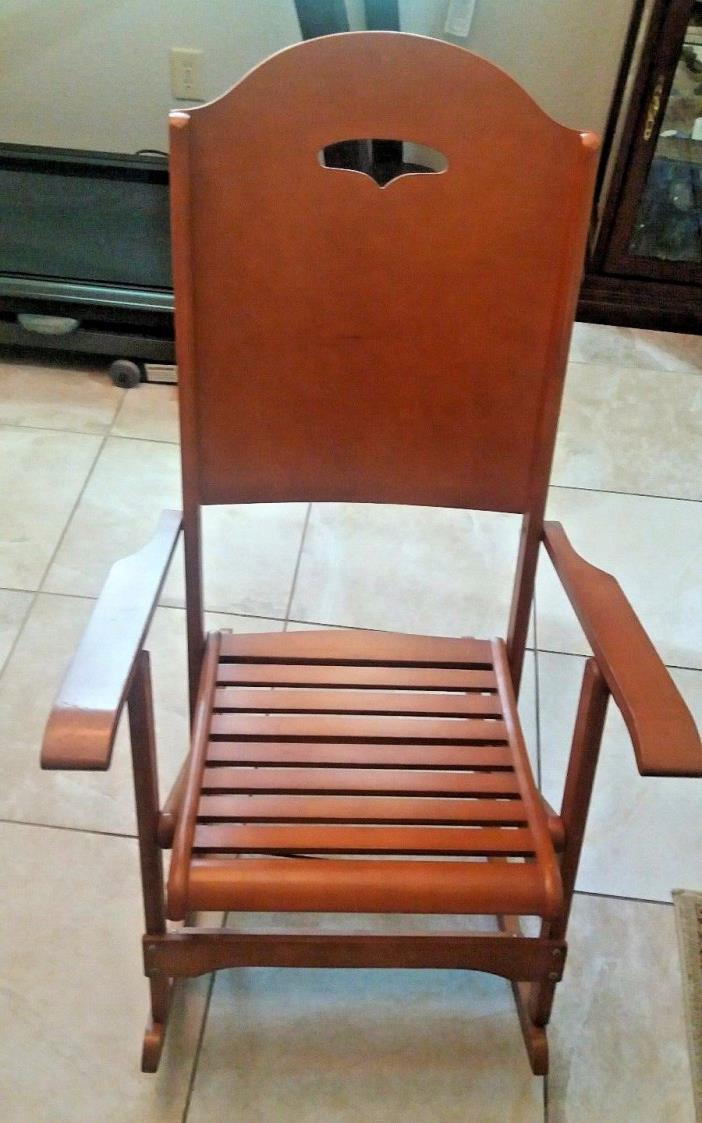 Maple Rocking Chair For Sale Classifieds