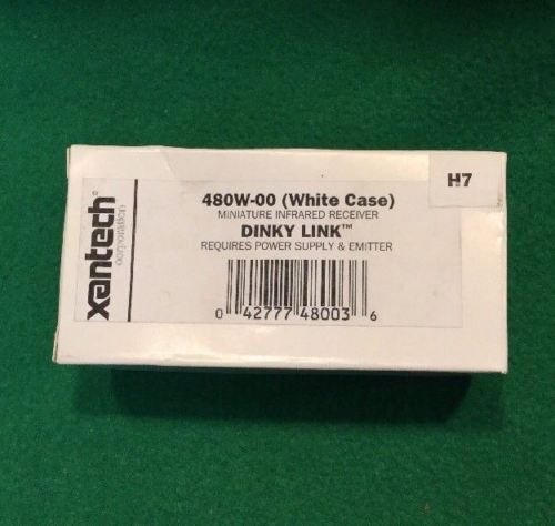 Xantech 480W-00 Miniature Infrared Receiver Dinky Link