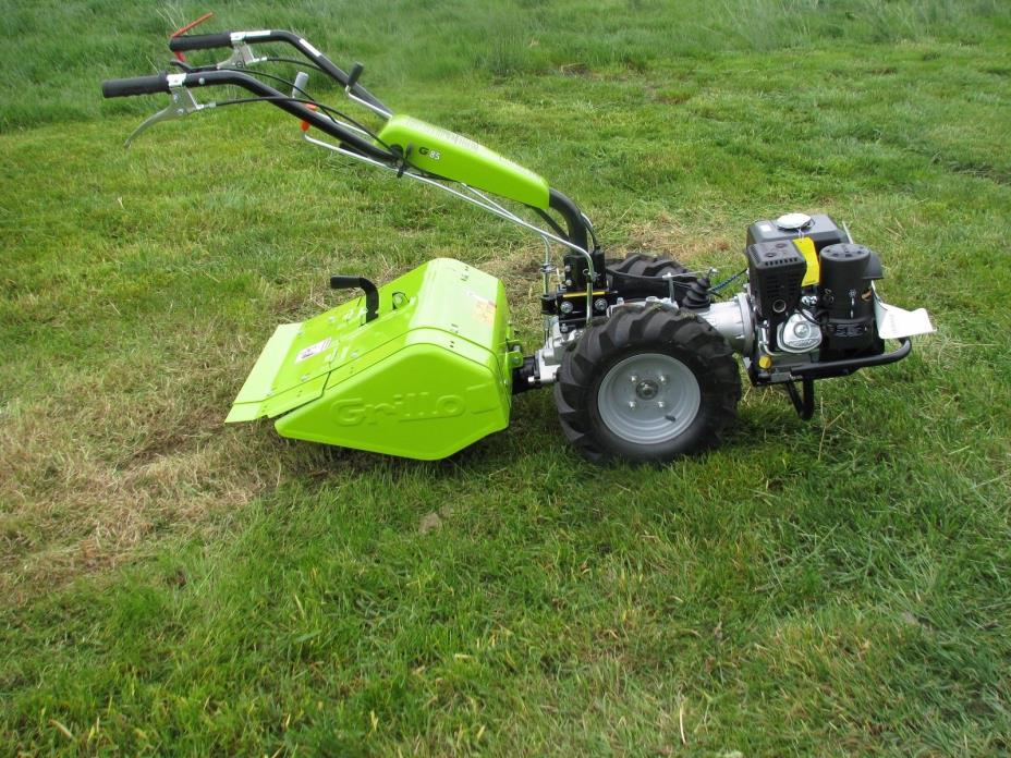 Grillo G85 2-Wheeled Tractor/Tiller With 22