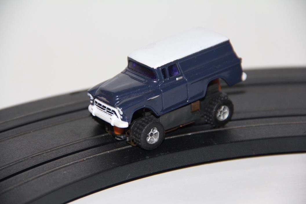 Custom Aurora T-Jet Monster Truck Suburban