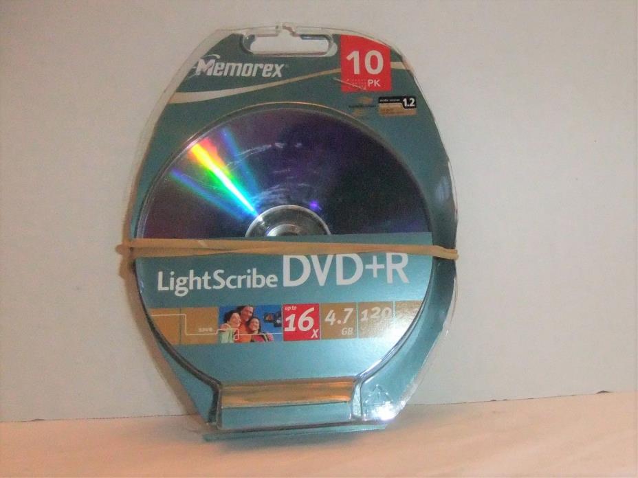 Lightscribe DVD+R 8 Blank Disc 16x 4.7 GB 120 min