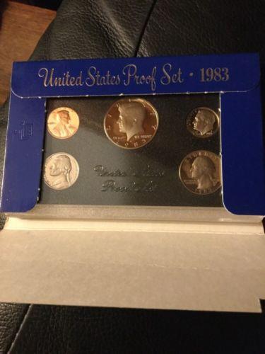 1983 S US Mint Proof Coin Set