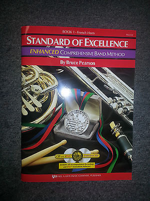 STANDARD OF EXCELLENCE ENHANCED FRENCH HORN BOOK 1