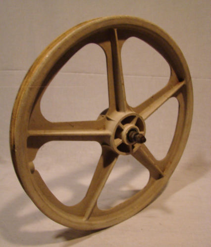 1980s SKYWAY FRONT MAG WHEEL BMX OLD SCHOOL BICYCLE GT HUTCH HARO MONGOOSE DIRT