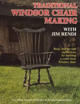 Colonial Style Comb-back Windsor Chair Step-by-step - Instructions for Building