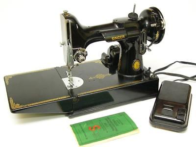 Special Edition 1951 100 yr A CENTURY OF SEWING Singer Featherweight 221 Machine