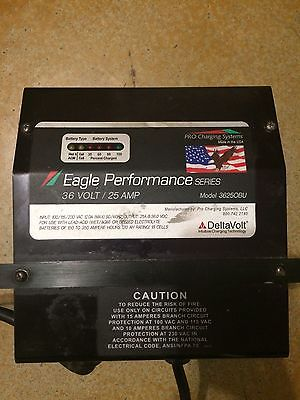 Eagle 36 Volt 25A On Board Charger, Forklift, Floor Scrubber, Scissor, Golf Cart