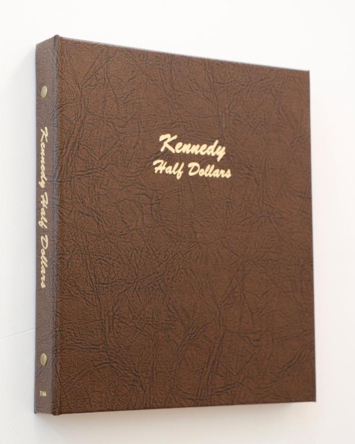 John F. Kennedy Half Dollar Starter Set 1964-2007 Dansco Album Circulated Silver