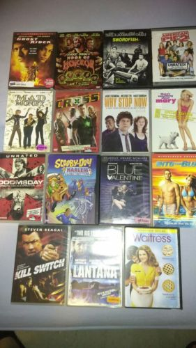 Awesome 15 DVD Movie Lot. Gr8 Titles. All Work Perfectly.