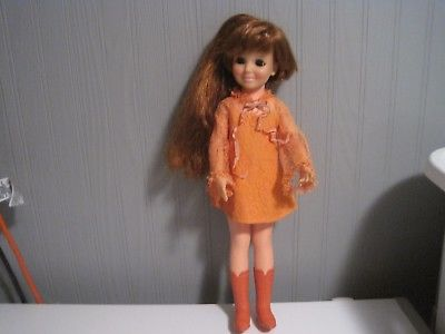 VINTAGE 1968 IDEAL CRISSY DOLL!