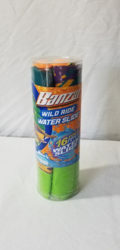 Banzai Wild Ride 16 ft Water Slide - Lime green