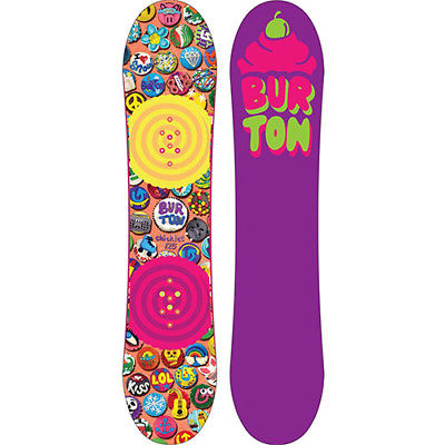BURTON Girls' Chicklet Snowboard - 125 - Cupcakes