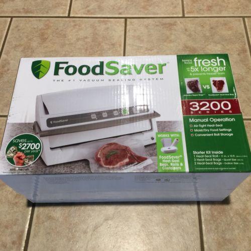 Food Saver Vacuum Sealer Machine 3200 Series Used - Excellent Condition