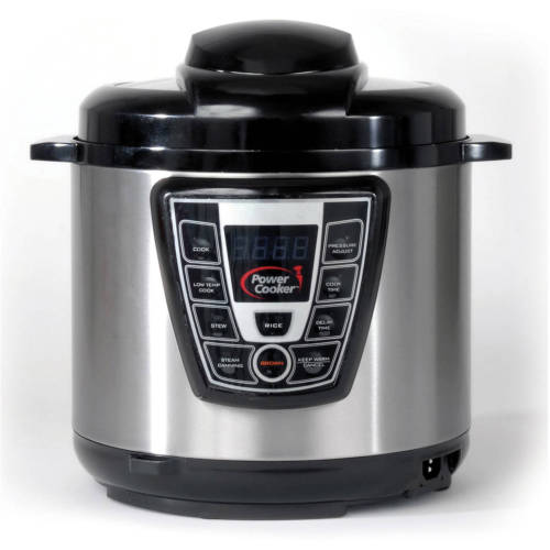 Power Cooker XL- Pro - Digital Electric Pressure Cooker & Canner (6 Quart)