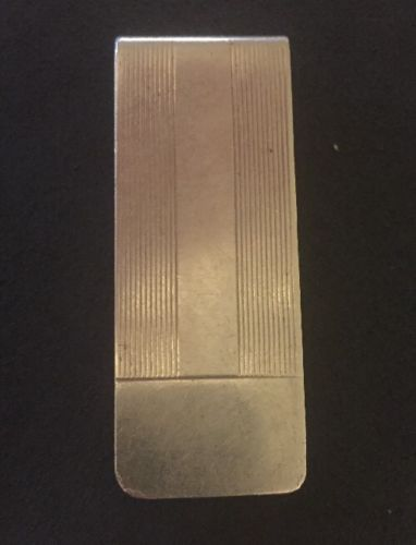 Tiffany Sterling Silver Money Clip