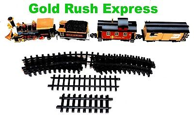 PARTS from Gold Rush Express Train Set New Bright #186 1995  - As Is