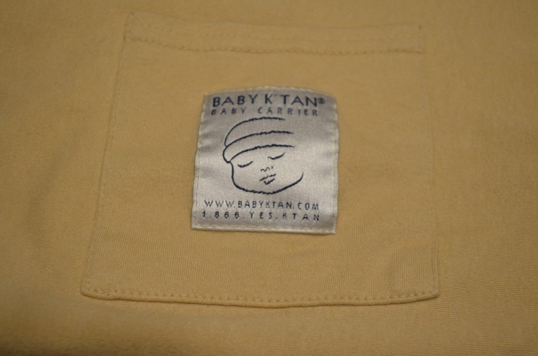 Baby K'tan, baby k tan, Original Baby Carrier, Beige, Size Medium
